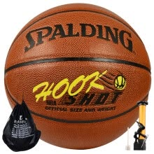 basketball-Spalding 7-3722Y Street Graffiti Training Competition Basketball Wearing Rubber Blue Ball on JD