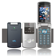 -Original Sony Ericsson W508 Flip Mobile Phone Full Set on JD
