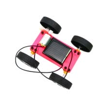 -Mini Solar Powered DIY Car Kit Children Educational Toy Gadget Gift New on JD