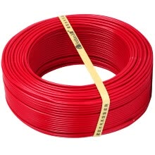 8750209-Feifei (FEIDIAO) wire and cable BV2.5 square national standard household copper wire single-core single-strand copper wire 100 meters two-color ground on JD