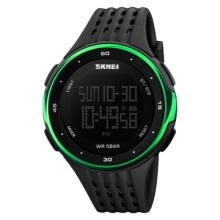 -UK Men Fashion Military Stainless Steel Digital LED Sport Quartz Wrist Watch on JD