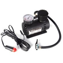 -Car Mini Electric Inflation Pump Portable Tyre Air Inflator 300PSI Auto Compressor Pump for Car Bicycle Motorcycle Basketball on JD