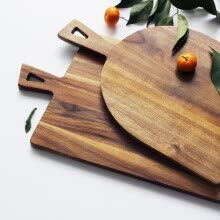 other-kitchen-supplies-NeillieN Acacia Wood Bread Chopping Blocks ,Pizza Cutting Board ,Food Fruit Plate ,Baking Tool ,cutting board,Kitchen Accessories on JD
