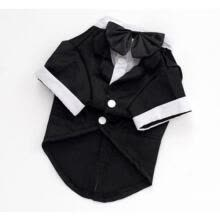 suiting-blazers-Cute Pet Dog Cat Clothing Prince Wedding Suit Tuxedo Bow Tie Puppy Clothes S-2XL on JD