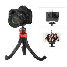 -Mini Flexible Tripod Octopus Spider Stand Holder with 360° Ball Head for GoPro Heor 6/5/4/3+/3 Yi Action Camera for Canon Nikon So on JD