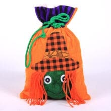 masks-Cute Halloween Drawstring Candy Bag Gift Storage Pouch Party Decor Ornament on JD