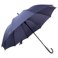 -[Jingdong supermarket] Tiantang umbrella solid color to strengthen the strengthening of a strong water repellent a dry rods from the straight bar business light sun umbrella dark green 193E on JD