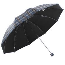 rain-gear-HEAVEN Umbrella Black Three-folding business Sunny Umbrella dark 32315E/31580ELCJ on JD