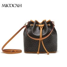 02b8c41b380 MICOCAH Brand 2017 New Arrival Women Bucket Bags PU Leather Quality Fashion  Bags With Cell Phone Pockets Famous Brand GL300