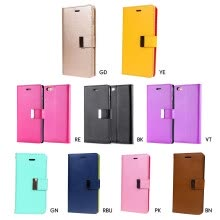 875061563-MyMei New Wallet Flip PU Leather Phone Case Cover For  iPhone 5/5s/SE on JD