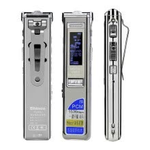 digital-voice-recorders-Shinco V-59 32G recording pen professional high-definition remote noise reduction password protection recording editing MP3 player ivory white on JD