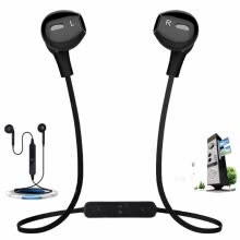 875061539-Wireless Bluetooth handsfree headset 4.1 Stereo earphone Earpiece music Headphones bluetooth headphone for ios android mp3 mp4 on JD