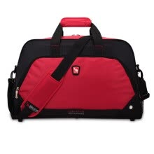 travel-bags-[Jingdong Supermarket] AiWAS Travel Bag Large Capacity Luggage Handbag Casual Outdoor Travel Bag 7003 Red on JD