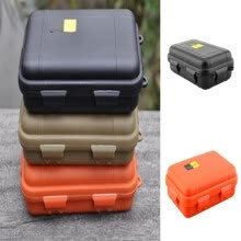 875062575-1PC Mini Outdoor Design Pressure-proof Use Tactical Outdoor Size Container Shockproof  Gear Tool Waterproof Box Storage Survival on JD