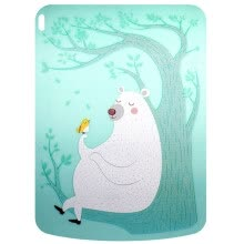 875071722-[Jingdong Supermarket] Taiwan Artiart creative double card folder bus meal card access card bank card set hard shell lightning dog on JD