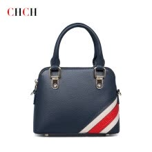 875062576-CHCH  leather handbag handbag 2016 new fashion leisure shoulder inclined across British wind women's packages in baotou layer on JD