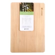 -Xiao Liu cutting board whole wood cutting thickened single plate solid wood chopping board hardcover import century leaf basswood noble series M014 (50 * 35 * 4.5cm) on JD
