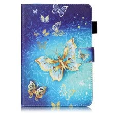 mobile-phone-bags-Golden Butterfly Design PU Leather Flip Cover Wallet Card Holder Case for IPAD MINI 1234 on JD