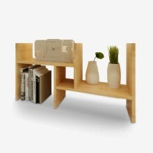8750213-Home music Ming products telescopic small bookshelf simple board desktop bookshelf table shelves storage rack storage rack ZC2412 on JD