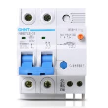 8750209-Zhengtai (CHNT) with leakage protection switch home electric shock protection 2P 32A bipolar C32 NBE7LE on JD