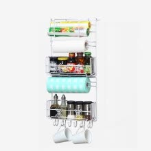 8750213-OURUNZE multifunctional refrigerator side storage rack on JD