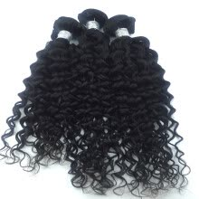 -Goss Hair Factory Wholesale Price Virgin Peruvian Curly Hair 3 Bundles 8A Unprocessed Human Hair Weave Peruvian Jerry Curly on JD