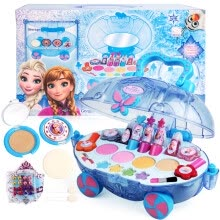 -Disney Disney children's cosmetics princess makeup box set nontoxic washing cosmetics girls play house toys Snow Princess make-up car on JD