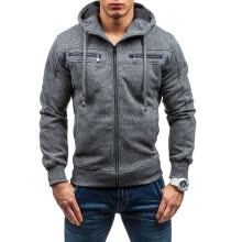 -New Men Fashion Cardigan Hoodies Hooded Sweater on JD