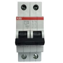 8750209-ABB Circuit Breaker 2P40A Air Switch Bipolar Mini Open SH202-C40 on JD