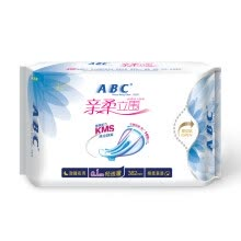 -ABC pro-soft vertical fog thin cotton soft long night with sanitary napkin 420mm * 3 (comfortable anti-side leakage) on JD
