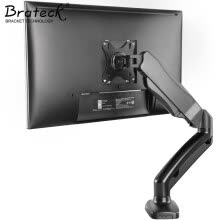 875061464-Brateck LCD Monitor Bracket Desktop Universal Swing Lift Display Bracket Arm Single Screen Base Bracket 13-27 in LDT13-C012 on JD