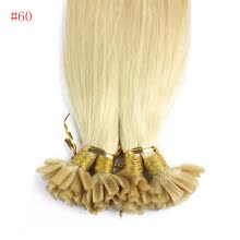 -Iwona 100% Brazilian Virgin Remy Hair Straight Nail Tip 1g/s 100g Blonde Human Hair on JD