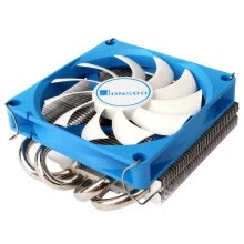 -(Multi-platform / 4 heat pipe / blow CPU cooler / PWM intelligent temperature control / 9CM fan / with silicone grease) on JD