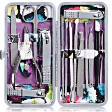 beauty-gifts-For the nail with a knife painted 15 sets of nails nail clippers nail file special pedicure knife onychomeen tool set on JD