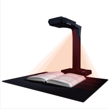 -Into the technology (CZUR) ET18 intelligent scanner high-speed book into a book document free demolished high-speed instrument high-definition zero margin 18 million pixels on JD