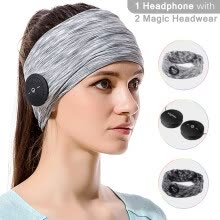 -Bluetooth Magic Headphone Headband Sweatband, for Women & Man Running, Yoga, Workout, Sleeping, Fitness, Cycling, Multi-functional on JD