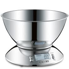 8750209-Xiangshan EK4150 stainless steel household kitchen scale baking said food scale (large load plate) on JD