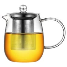 -[Jingdong supermarket] a house kiln heat-resistant high-temperature glass kettle tea can be washed and washed metal liner tea teapot 600ml TM-03 on JD