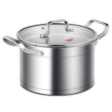 -Cooking Great Wong soup pot 304 stainless steel small soup milk pot 20CM no coated stew pot cooking pot Ind on JD