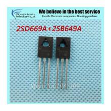 10PCS B649A +10PCS D669A 20pcs TO-126 10 Pairs 2SB649A 2SD669A