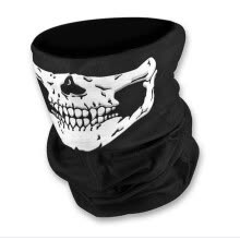 -2017 New Fashion Skull Bandana Bike Motorcycle Helmet Neck Face Mask Paintball Ski Sport Halloween Headband  scarf on JD
