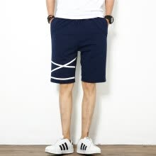 sweatpants-SHUYI Male Sports Shorts Cotton Loose Large Size Running Shorts Casual Simple Design short Pants on JD