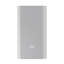 -Xiaomi Portable 5000mAh Universal Power Bank Quick Phone USB Output/Input Ultra Battery Charger External Battery Phone Charger on JD