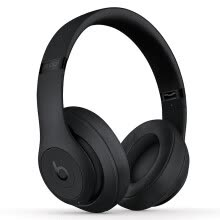 -Beats Studio3 Wireless Sound Recorder Wireless Generation 3 Bluetooth Headset with Bluetooth Noise Reduction Headphones Gaming Headset - Matte Black with Microphone MQ562PA / A on JD