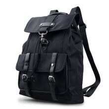875062576-New men's backpack backpack fashion students waterproof nylon bag leisure laptop bag8860 on JD