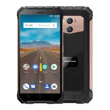 -Ulefone Armor X Rugged Phone 4G Mobile Phone IP68 Waterproof Android 8.1 5.5Inch HD MT6739 Quad Core 16GB+2GB 13MP Cam NFC Face ID on JD